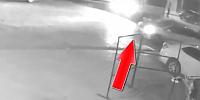 Eskil Çarşı Merkezindeki Motor Kazasının Kamera Görüntüsü  Orta Çıktı