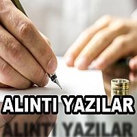 ALINTI YAZILAR